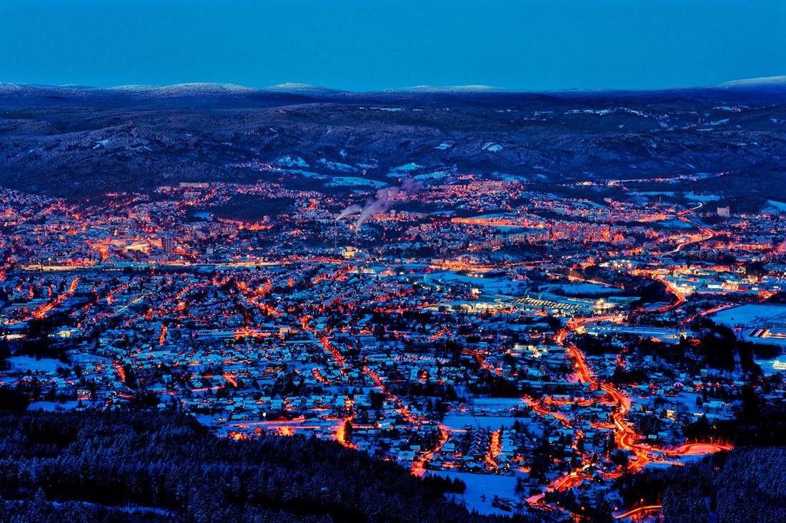 Liberec, Město pod horami
