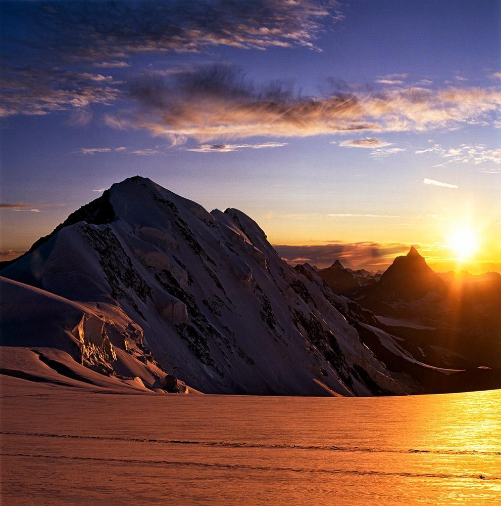 Lyskam, Walliské Alpy